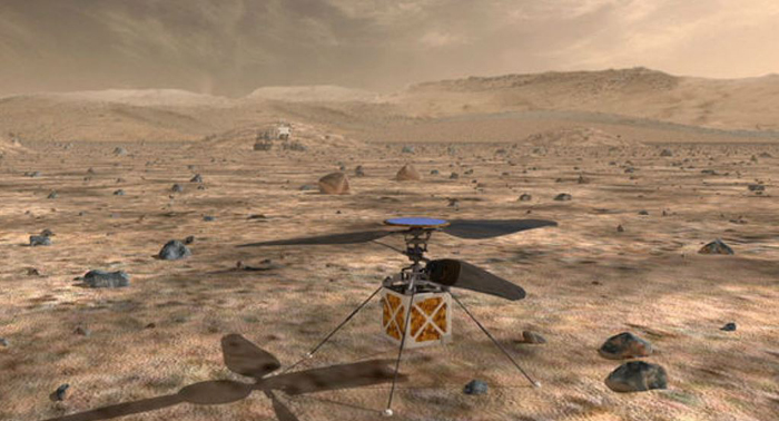 NASA will send tiny helicopter to Mars