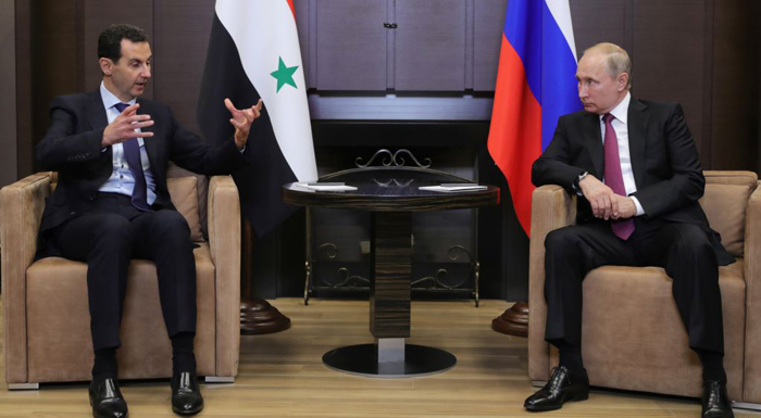 Syria's Assad Meets With Russia's Putin In Sochi