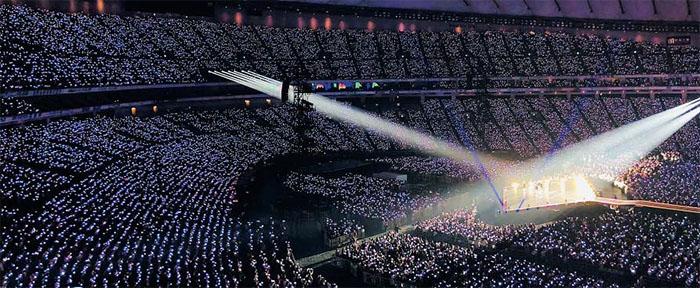 Japanese Fans Fill Bangtan Boys Gig At Tokyo Dome Despite