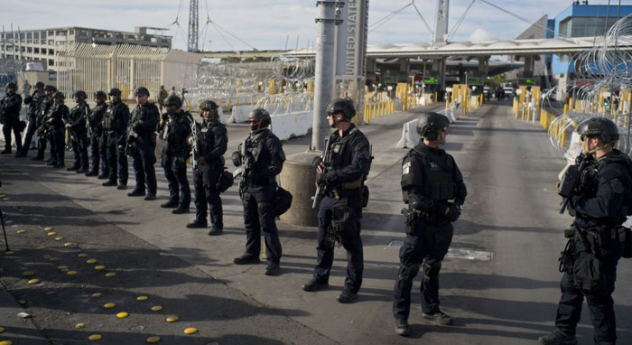 Mexico Will Not Use Military Force to Deal With Influx of Migrants
