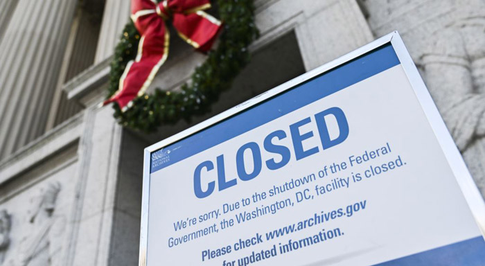 USA braces for lengthy government shutdown