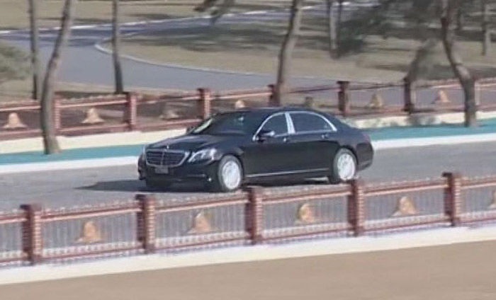 Kim Jong-un Being Chauffeured in W500 Million Maybach