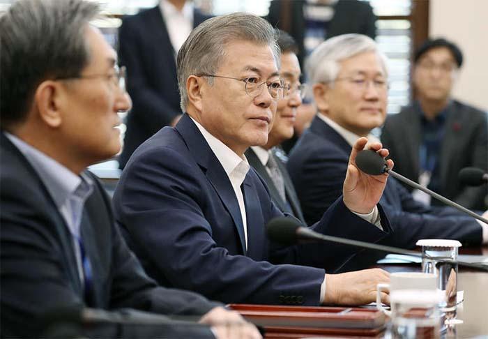 Moon Says U.S.-N.Korea Summit 'Will Be Turning Point'