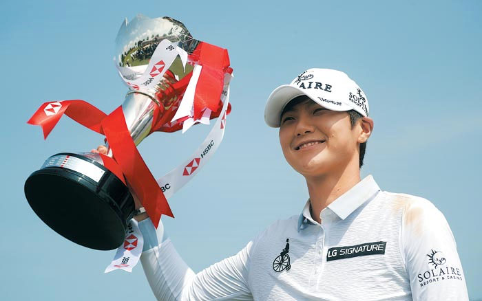 Park wins 6th LPGA title with final-round 64 in Singapore