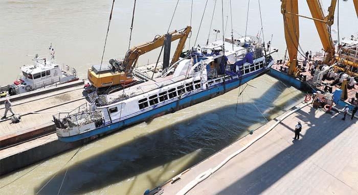 More Bodies Found as Danube Pleasure Boat Raised - The
