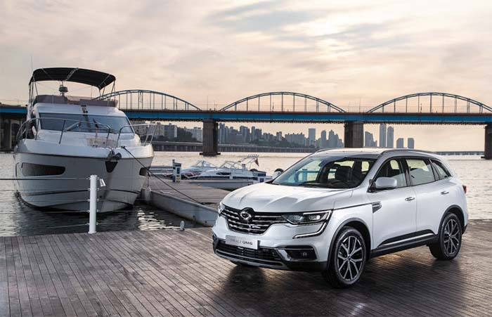 Renault Samsung S Top Selling Suv Gets 1st Face Lift In 3 Years