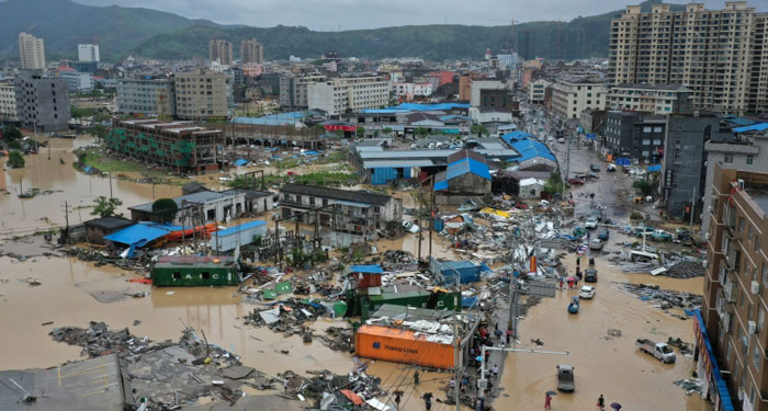 Monster storm: Typhoon Lekima death toll rises to 44 in eastern China